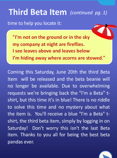 Third Beta
