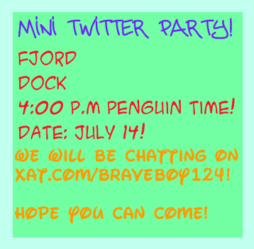 Mini Twitter Party!