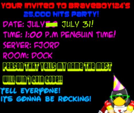 Party Invite!