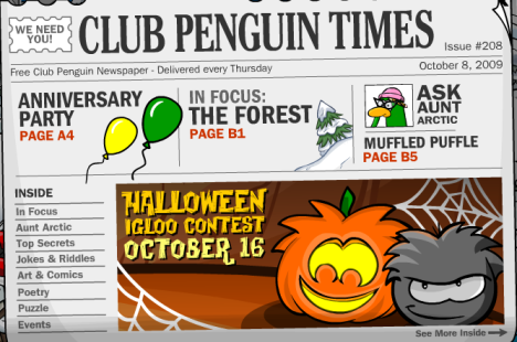 Clubpenguin Times 1